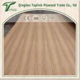 Chapas de madera de teca de lujo barato 4X8 Comercial para la decoración