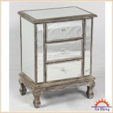 Pecho reflejado de madera clásico de la antigüedad 4-Drawer para el almacenaje