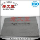 Yg6X Zhuzhou duro aleación de carburo de tungsteno Glat Bar en stock