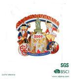 De hete Medaille van Carnaval van het Metaal van de Fabrikant van Guangdong China van de Verkoop Gouden