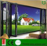 Окно вентиляции стеклянного окна Китая Windows алюминиевое двойное застекленное Windows складывая Bifold