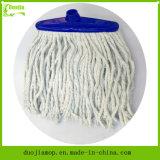 Tête de lavette de fils de coton de mouvement circulaire de nettoyage