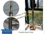 Bomba de tambor portátil 45L / Min com tubo de bomba de tambor Ss316