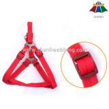 Poliester de alta calidad del color sólido 10m m de la Caliente-Venta/correo de nylon y harness ajustable de 15m m