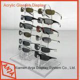 Soporte de visualización de los vidrios de las gafas