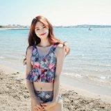 2017닢의 여자 최고 섹시한 Khongboon 수영복을 위로 민다