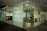 Moderne Aluminiumhölzerne Zelle-Arbeitsplatz-/Office-Glaspartition (NS-NW321)