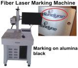 Preço da máquina de impressão do laser, máquina da marcação do laser da fibra para a elevada precisão 3D do registro do anel mini