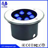 begrabenes 12W LED beleuchtet 3000k wasserdichtes Licht des Fußboden-LED