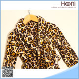 最も新しいデザインホテルの浴衣の珊瑚の羊毛の浴衣