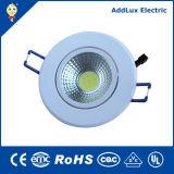 穂軸LED Downlightを薄暗くするセリウムRoHS 3W 5W 7W 10W