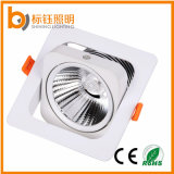 Super Bright COB Alliage d'aluminium 15W LED Downlight pour intérieur