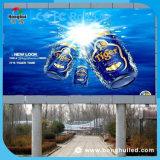 Afficheur LED extérieur de location de mur visuel de 6200CD/M2 P12 DEL