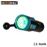 Hoozhu V13 급강하 영상 가벼운 최대 2600 루멘은 120m를 방수 처리한다