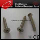 Parafuso principal escareado do aço inoxidável de A2-70 A4-80 soquete Hex