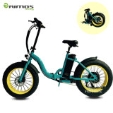 Cruiser Handlebar 20inch Fat Tire Folding Elctric Bike Made in China