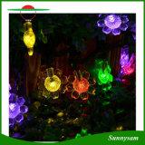 maken de Decoratieve Lichten van de Bloesem van de Zonnebloem 50LEDs van 7m Zonne LEIDENE van Kerstmis van het Huwelijk van de Partij van de Tuin het OpenluchtLicht van het Koord waterdicht