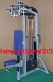 macchina di concentrazione del martello, strumentazione di ginnastica, forma fisica, lifefitness, anca e Glute-DF-7014