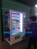 Máquina expendedora combinada para bebidas y bocadillos con certificación Ce 10