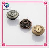 Jeans animaux de bouton de denim en métal de tigre de boutons de partie lisse