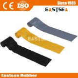 Gelbe, graue, schwarze Farben-Nylongewebe-Kabel-Deckel