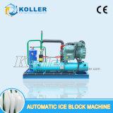 Koller машина блока льда высокой эффективности 3 тонн съестная