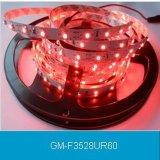 Ce/RoHS impermeabilizan la venta al por mayor con pilas flexible de la luz de tira de la tira SMD 5050 LED de la luz del RGB IP67 LED