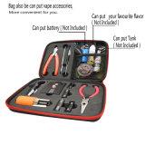 Инструментальный ящик Vape строителя катушки набора катушки катушки мастерский DIY