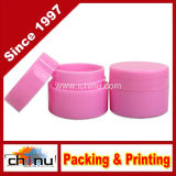 7ml (0.25oz) 분홍색 건장한 두꺼운 두 배 벽 플라스틱 용기 단지
