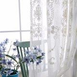 Tissu de rideau de fenêtre à carreaux de lin à lin décoratif