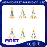 G80合金鋼鉄持ち上がる索具1本の足2の足3の足4の足のチェーン吊り鎖