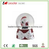 Globo modificado para requisitos particulares Polyresin decorativo de la nieve para la decoración casera y los regalos promocionales