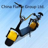 Самокат с 1000W, 60V/12ah/20ah/30ah литий Harley электрический, удары F/R