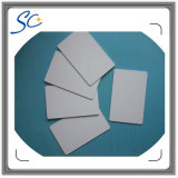 Карточка размера кредитной карточки пластичная пустая в PVC