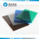 서리로 덥은 플라스틱 폴리탄산염 수정같은 PC 지붕 시트를 깔기
