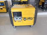 gerador Diesel Soundproof silencioso de 5kVA 5kw