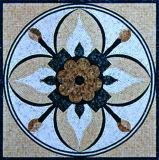 自然な石造りの大理石のモザイク・タイルおよびパターン