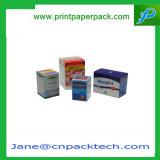 Rectángulo de empaquetado de la cartulina del alimento de la medicina del producto de encargo de la salud