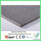 Tipo de goma material corriente sintetizado del rodillo del suelo de la pista para el patio, la escuela, la gimnasia, la corte y el campo etc. de los deportes