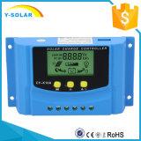 12V/24V 30A Solaraufladeeinheits-Controller USB 5V/2A für Sonnensystem mit Cer Cy-K30A