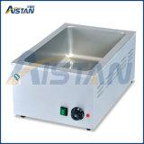 Réchauffeur de nourriture électrique d'acier inoxydable de bacs du principal 2 de Tableau d'Eh2a Bain Marie