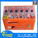 Tipo libre batería eléctrica de Maintencance de la motocicleta de 12V 6ah