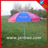 Digitas impressas anunciando o parasol do jardim dos EUA