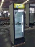 Dispositivo di raffreddamento dritto del portello di vetro del supermercato per birra