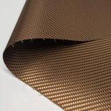 荷物/袋のための400dあや織りの格子縞のジャカードPU上塗を施してあるオックスフォードのファブリック