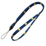 Amincir lanière étroite/tubulaire personnalisée de logo avec le crochet d'émerillon