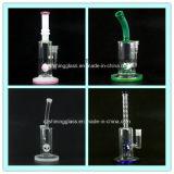 Heiße Tiereinlage-buntes Glaswasser-Rohr für rauchende Pfeife-Huka