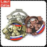 工場価格のカスタム3D重量挙げメダル