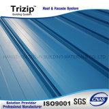 Prepainted толь Triroof65-470 шва положения стали