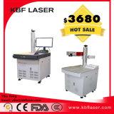 Do PC leve do ABS do diodo emissor de luz máquina plástica do marcador do laser da fibra dos PP para nomes do logotipo